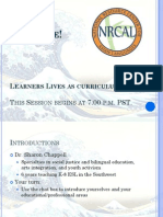 learners lives as curriculum2