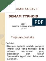 Laporan Kasus II demam tipoid