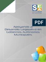Apoyando al Desarrollo Legislativo en Gobiernos Autónomos Municipales