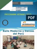 Actividades Programa Verano 2015
