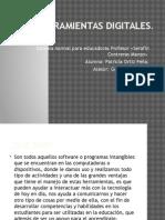 Presentacion sobre herramientas digitales
