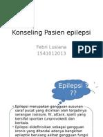 Konseling Pasien epilepsi