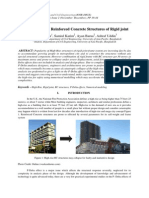 P-Delta Effect in Reinforced Concrete Structures of Rigid Joint