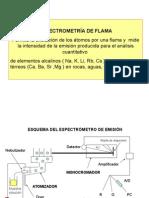 Espectrometría de Flama y Espectrografía