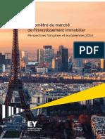 Barometre EY Du Marche de l Investissement Immobilier 2014