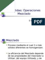 4 Operaciones Mezclado