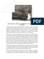 Maus Tratos Contra Os Animais e Violência Contra Pessoas - Blog do Pilako