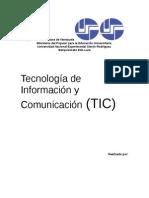 Tecnologías de Información y Comunicacion