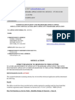 USPTO Office Action - Katy Perry Left Shark Trademark Application (Serial Number 86529321)