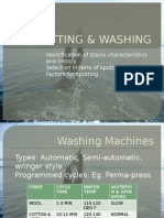 Spotting & Washing