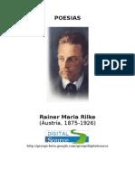 Rainer Maria Rilke Pequena Antologia Poesias