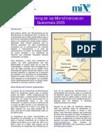 Benchmarking de las Microfinanzas en Guatemala 2005