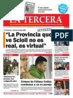 Diario La Tercera 23.04.2015