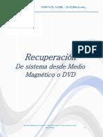Procedimiento Restauracion Sistema Desde DVD Compumax