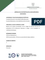 2 26feb2015 Diplomatura Matematicas en La Ed Basica