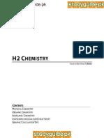 Handwritten Chemistry Revision Sheet