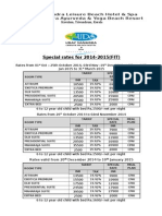 2Special Rate 2014-2015