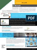 Catalogo Microsoft Novedades y Cursos Marzo Agosto 2012 (Sin Precio)