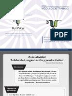 Cuaderno Asociatividad y Comercio Justo (GAMUR 2014)
