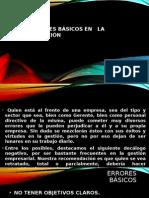 ERRORES BÁSICOS EN LA DIRECCIÓN.pptx