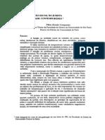 COMPARATO. Função Social Do Jurista No Brasil Contemporâneo