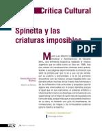 Spinetta y las criaturas imposibles