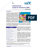 Benchmarking Honduras 2006
