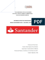 Informe Practica Santander