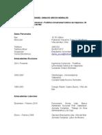 D.arcos M. - Curriculum Vitae
