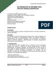 Presentacion de Informe Tecnico