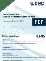 10 Medición Victimización Del Comercio II Semestre 2013
