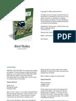 Haiku Poetry - Bird Haiku