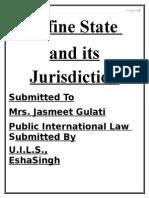 state jurisdiction