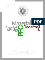 Checklist PFC