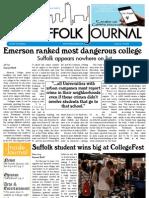 The Suffolk Journal 9/30/2009