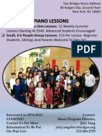 TBNC Music Flyer Summer Piano Lessons