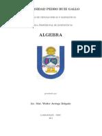 Algebra - Walter Arriaga Delgado