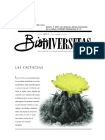 biodiversitas las cactaceas