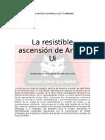 La Resistble Ascensión de Arturo Ui