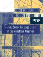Gibbons - Scaffolding Language Scaffolding Learning