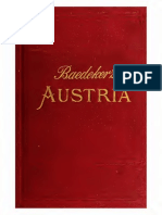 Austria Including Hungary, Transylvania, Dalmatia, And Bosnia Handbook for Travellers (1896) - Karl Baedeker