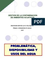 GCAA. Clase 2. Problematica , Disponibilidad, Usos Agua Peru.