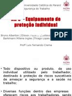 NR 6 – ITEM G - Equipamentos para proteção dos membros inferiores.pptx