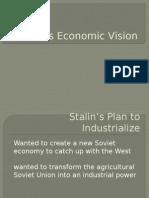 stalins economic vision