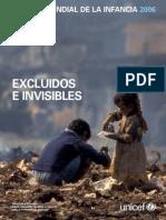 Excluidos e Invisibles (Informe UNICEF)