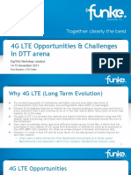 4G LTE Opportunities & Challenges