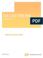 Datastream Installation Guide