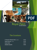 Royal Palm service analysis