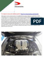 BMW n63 Stage1 Install