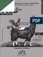 Programa FILU UV 2015